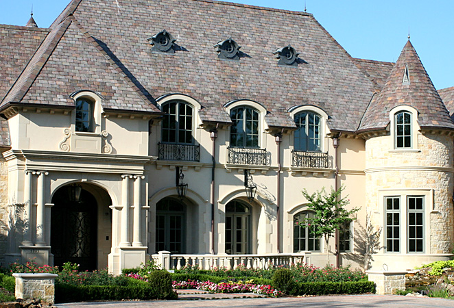 French Chateau Style Home Home Elevations Pinterest