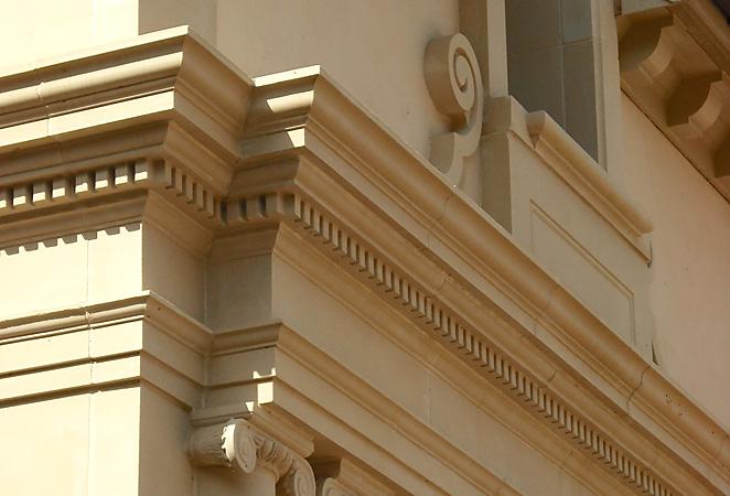 Private Residence Cast Stone Stucco Block Installation Dallas Tx