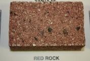 Split Face Red Rock