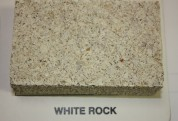 Split Face White Rock